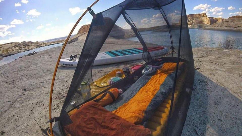 Camping Tent Sleeping Bag Holeshot Inflatable Sleeping Pad