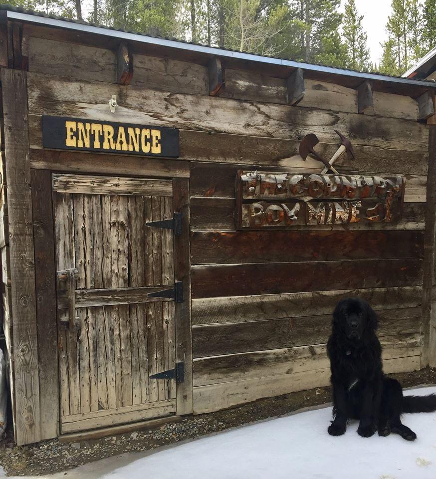 Country Boy Mine Entrance Breckenridge