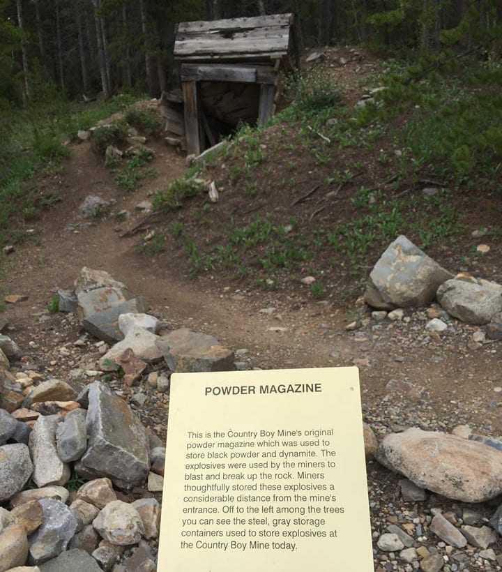 Country Boy Mine Powder Magazine Breckenridge
