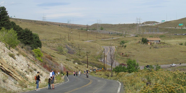 Dinosaur Ridge Pedestrian Bike Road Morrison