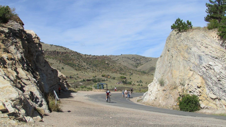 Dinosaur Ridge Cretaceous Sandstone Layer Morrison