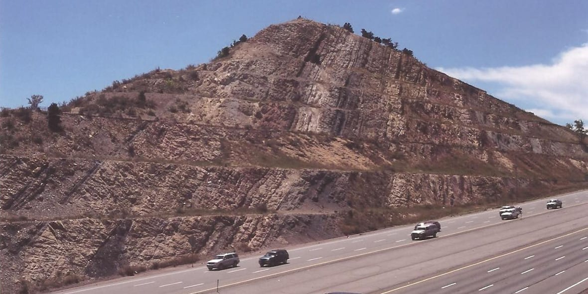 Dinosaur Ridge Roadcut I-70 Morrison