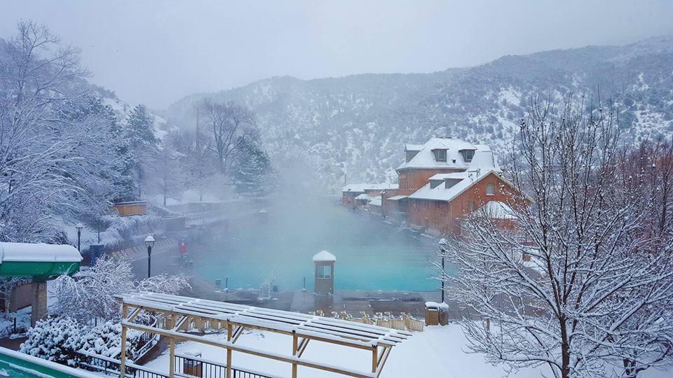 Glenwood Hot Springs Glenwood Springs Snow
