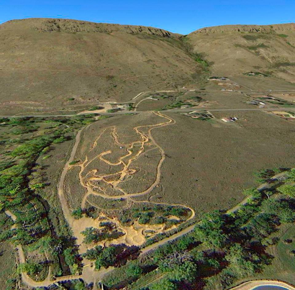 Golden Bike Park Aerial View
