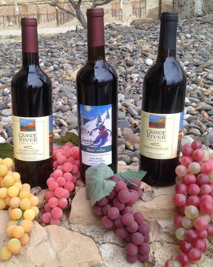 Grande River Vineyards Wine Bottles