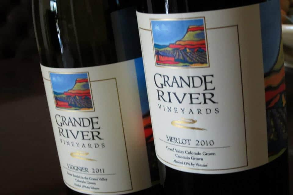 Grande River Vineyards Wine Bottles
