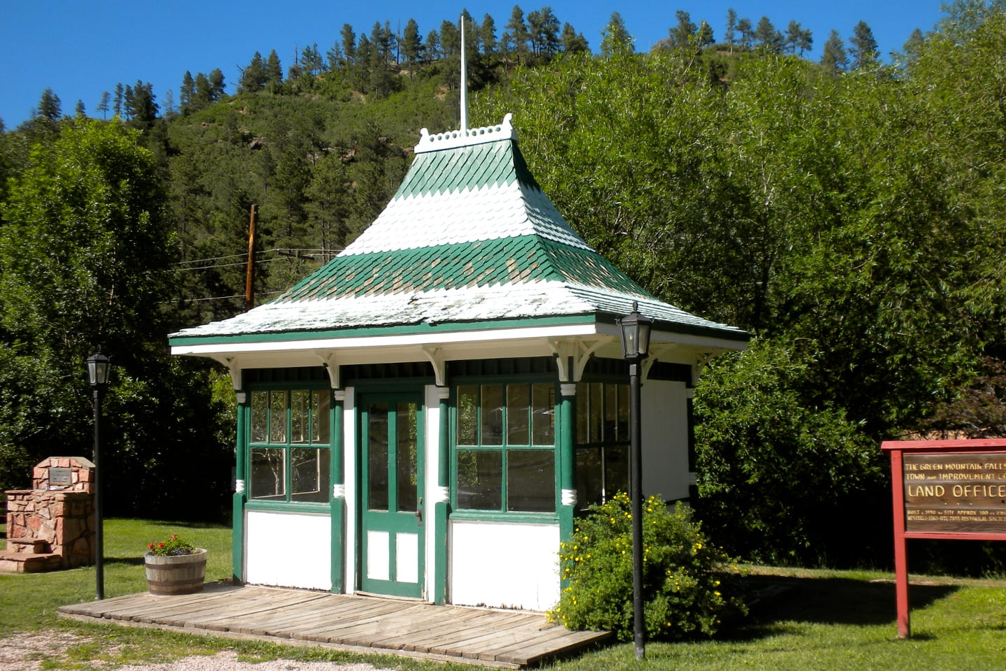 Green Mountain Falls Historic Land Office