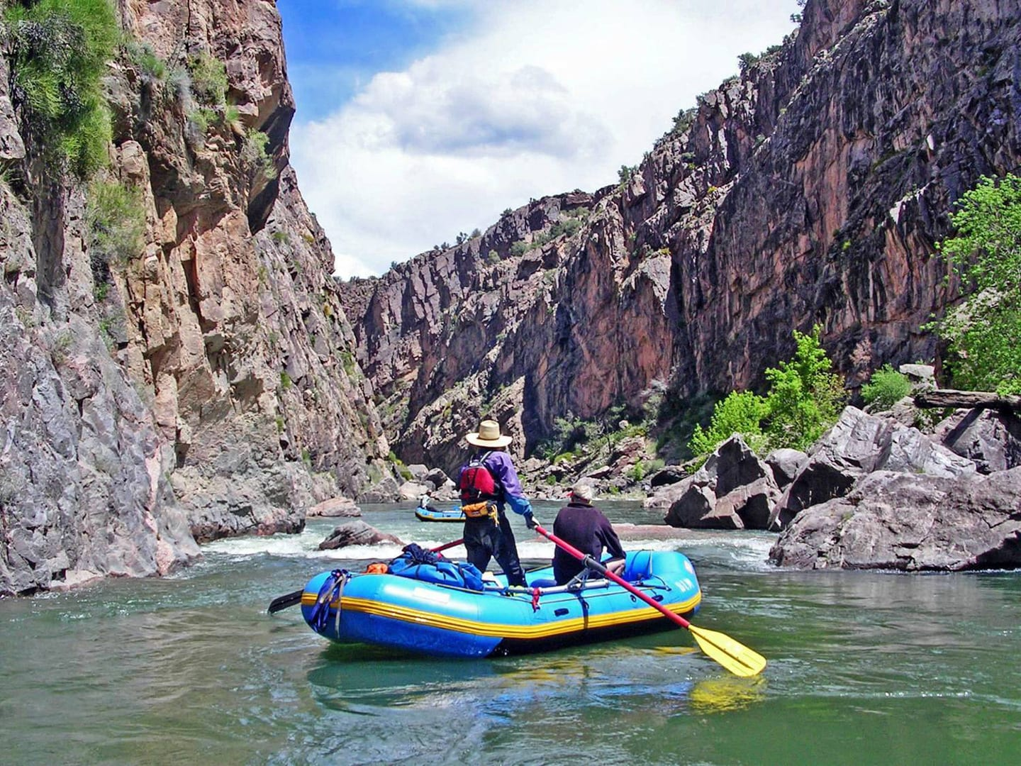 Gunnison Gorge National Conservation Area Rafting Gunnison River