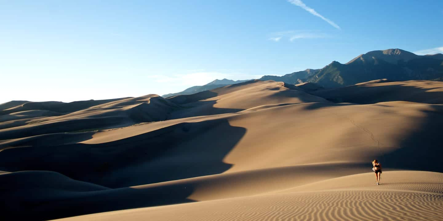 Colorado Hiking Trail Great Sand Dunes