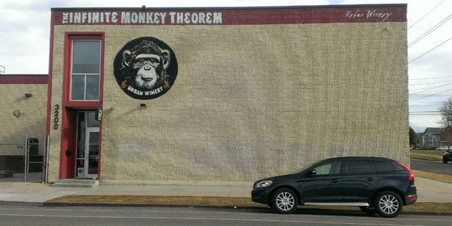 Infinite Monkey Theorem Winery Denver