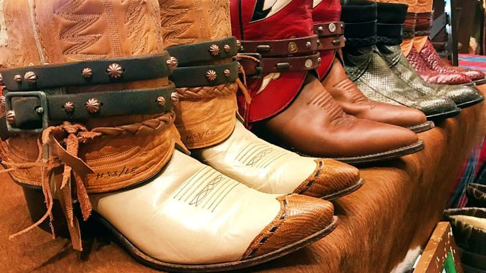 Kemo Sabe Leather Cowboy Boots
