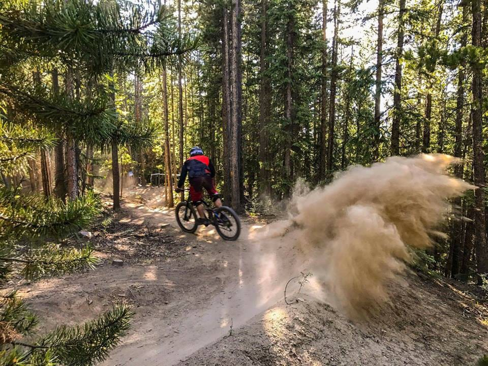 Keystone Bike Park Dirt Berms
