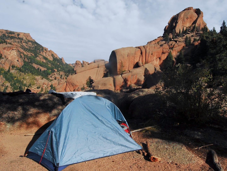 Camping Lost Creek Wilderness Colorado