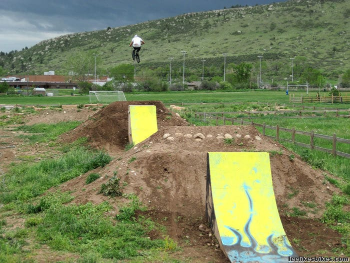 Lyons Bike Park Colorado Jumps