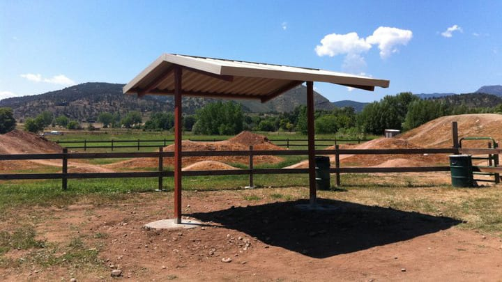 Lyons Bike Park Shade