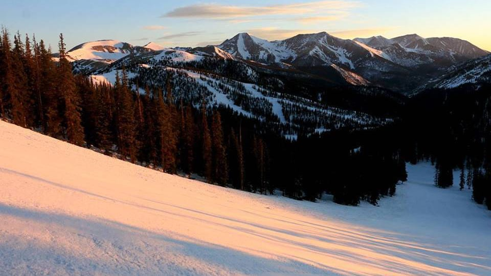 Monarch Mountain Ski Resort Sunrise