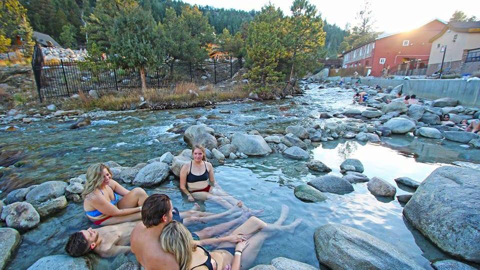 Mount Princeton Hot Springs Creekside Pools Nathrop Colorado
