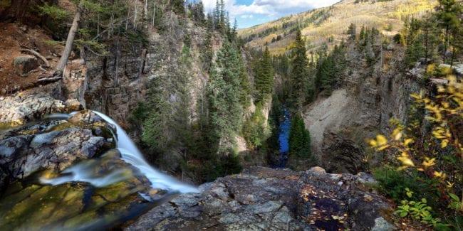 Mystic Falls Telluride Colorado