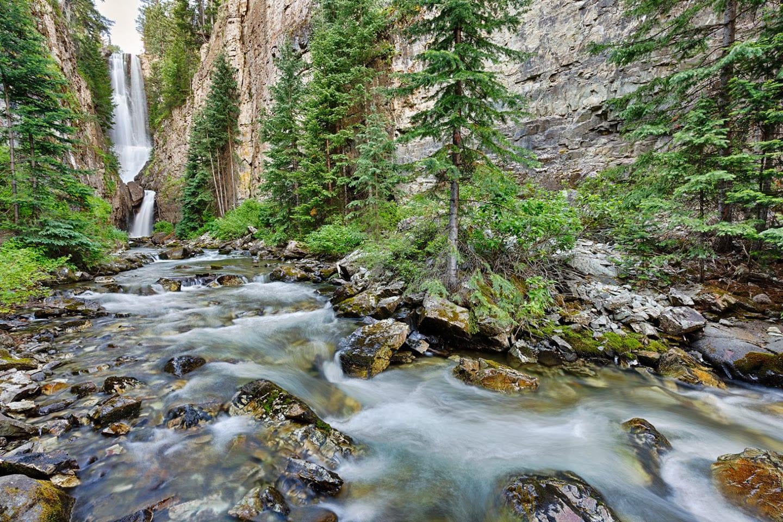 Mystic Falls Hike To Waterfall In Telluride Co