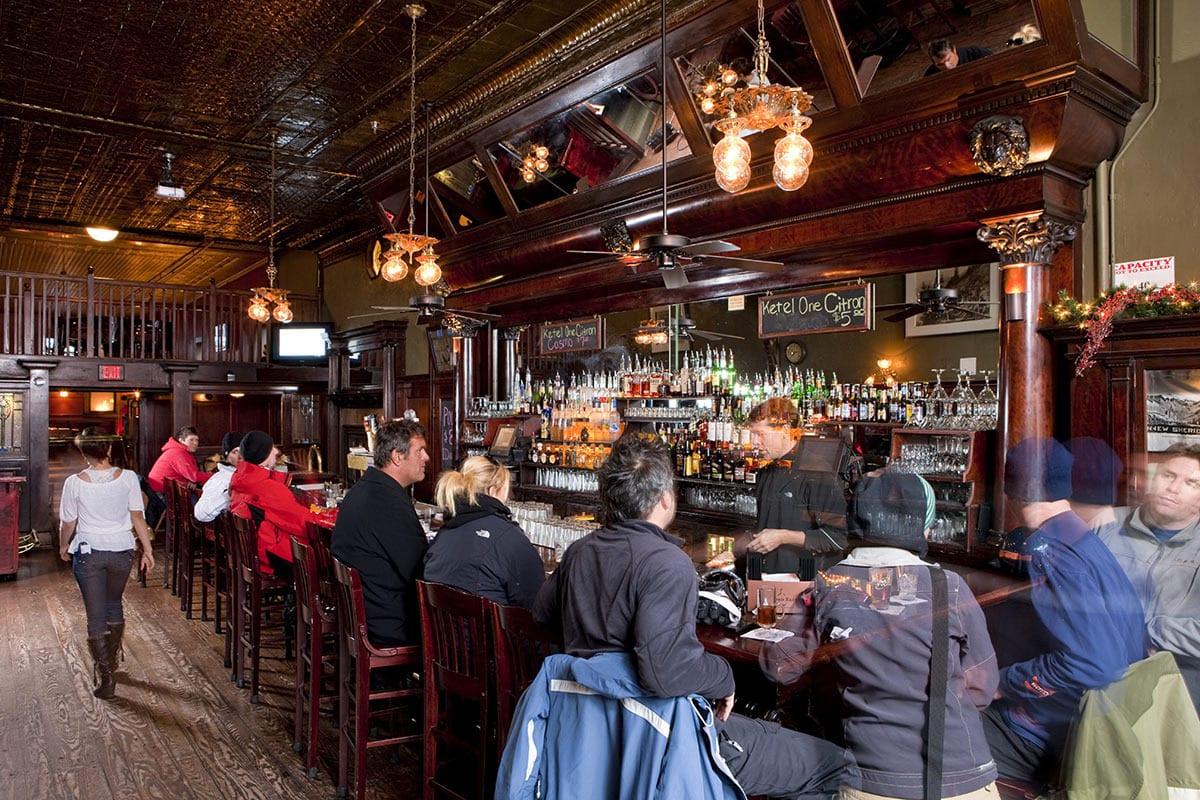 New Sheridan Hotel Historic Bar