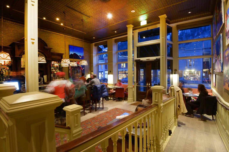 New Sheridan Hotel Parlor Cafe