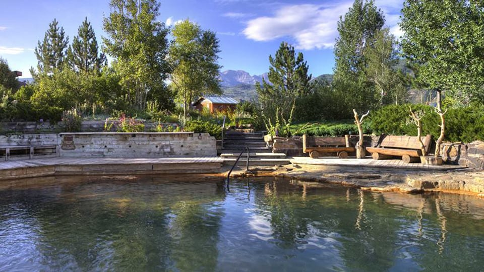 Orvis Hot springs Ridgway Colorado