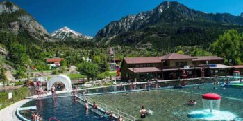 Ouray Hot Springs Pool Colorado