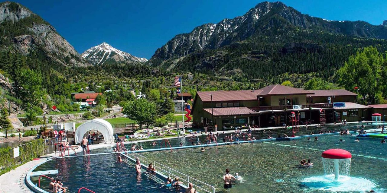 Ouray Hot Springs Pool Colorado