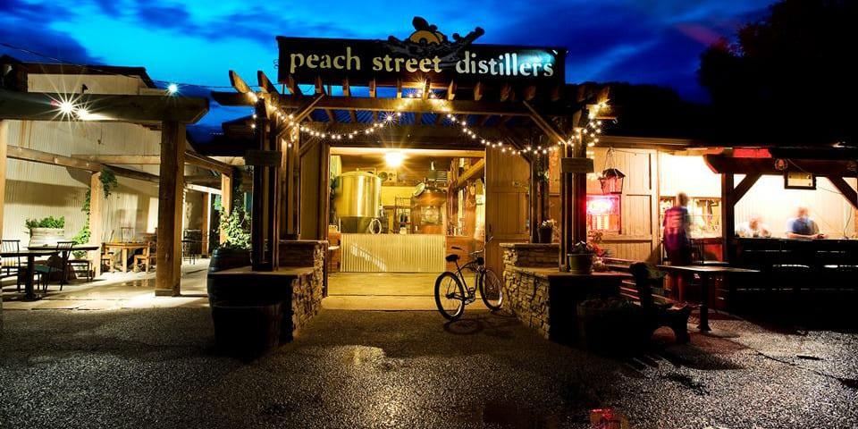 Peach Street Distillers Palisade Colorado