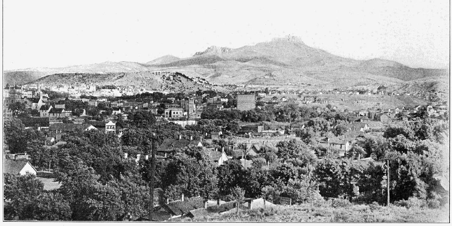 Fishers Peak Trinidad Colorado 1909