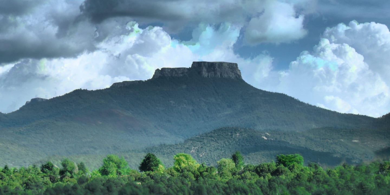 Raton Mesa National Natural Landmark Colorado