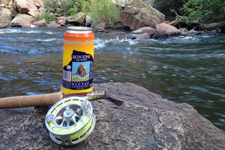 Redstone Meadery Mead Can Fly Fishing