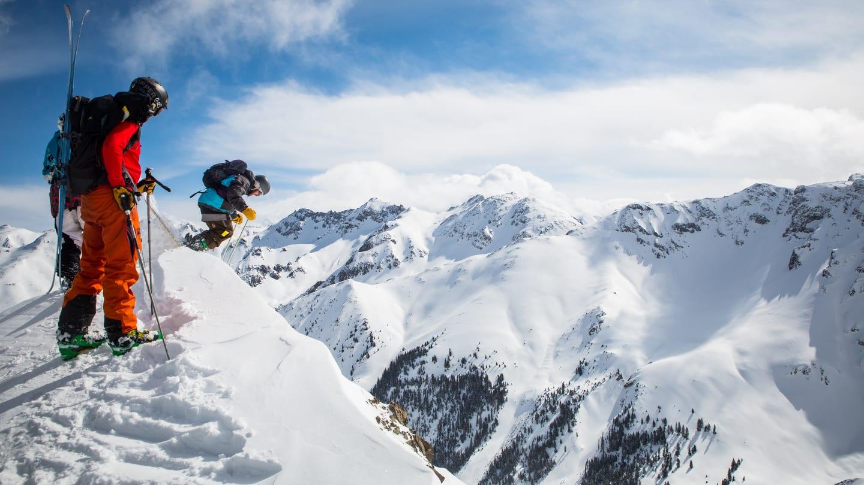 Silverton Mountain Ski Resort Dropping In