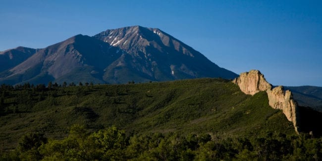 Spanish Peaks National Natural Landmark Colorado