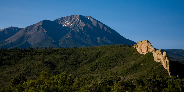 Spanish Peaks National Natural Landmark Colorado