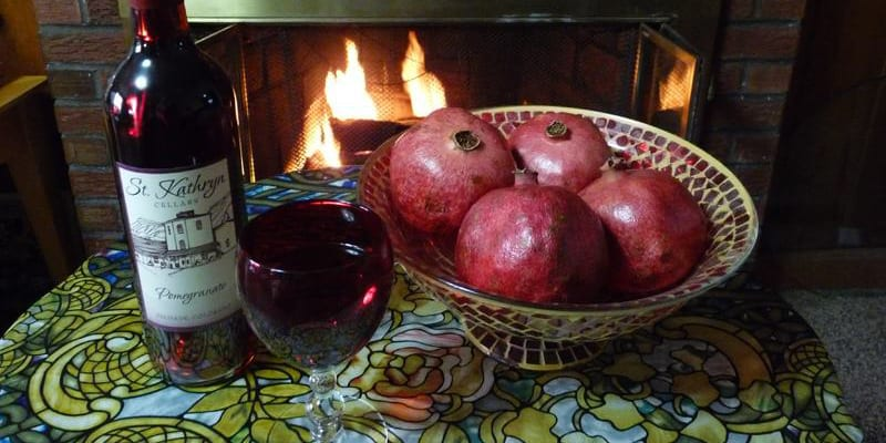 St Kathryn Cellars Pomegrante Wine