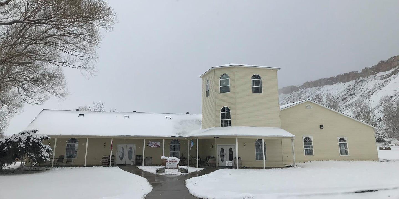 St Kathryn Cellars Tasting Room Palisade Colorado Winter