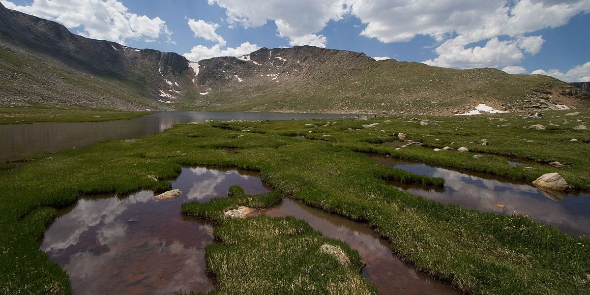 Summit Lake National Natural Landmark Colorado