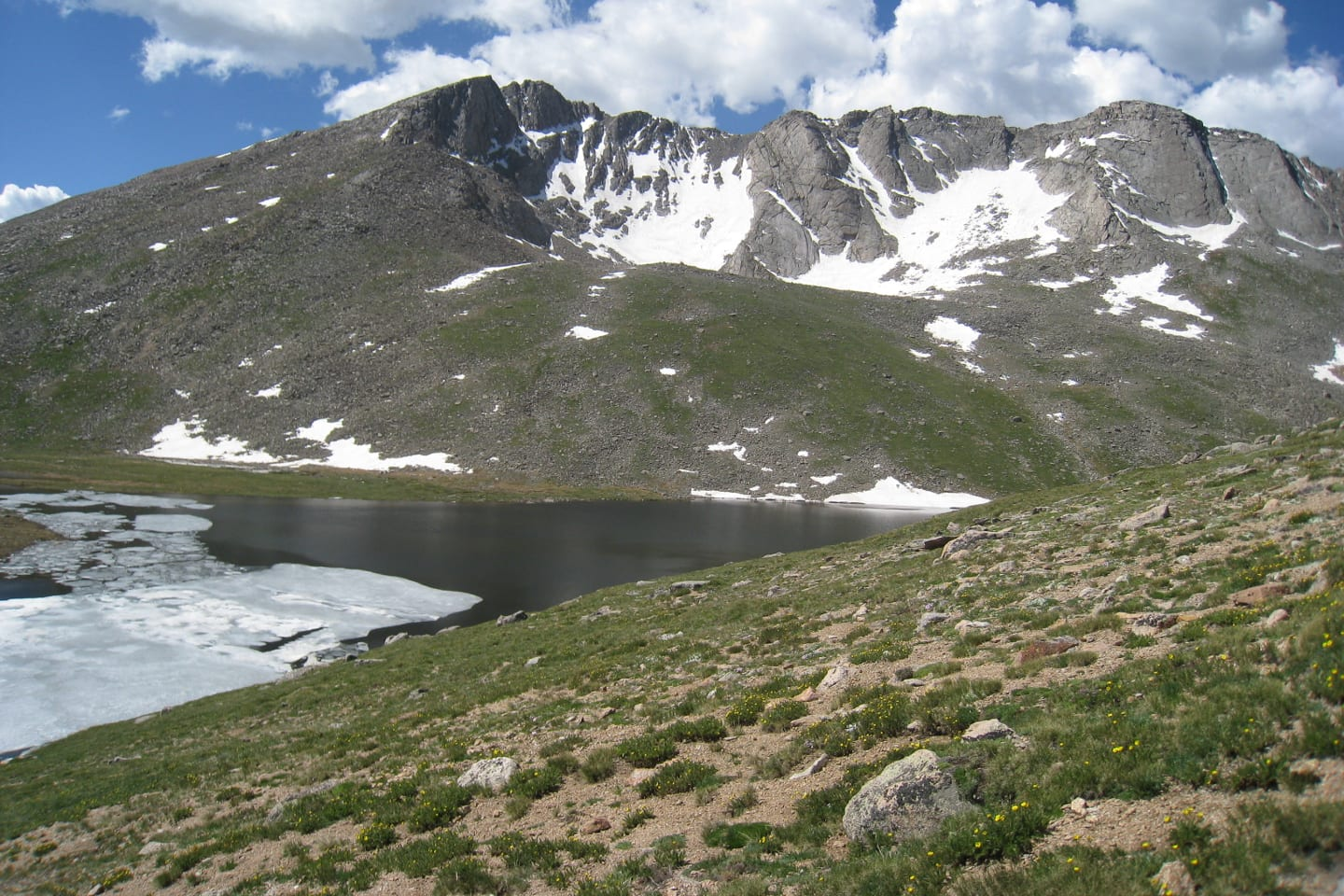 Summit Lake Park Mount Evans