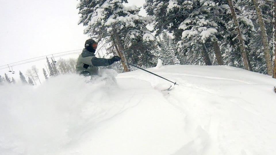 Sunlight Mountain Resort Powder Skier