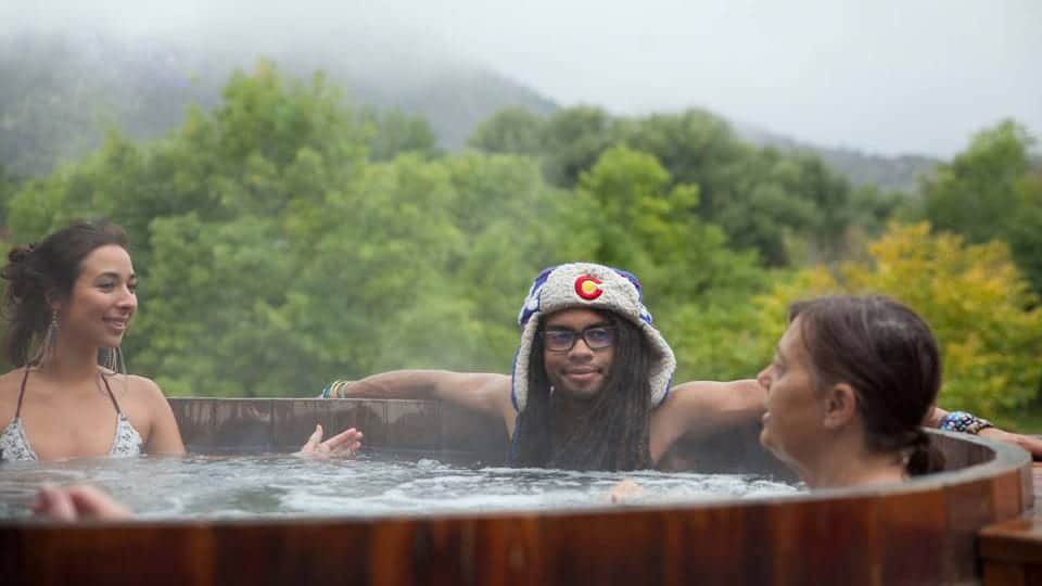 SunWater Spa Hot Springs Pool Manitou Springs Colorado