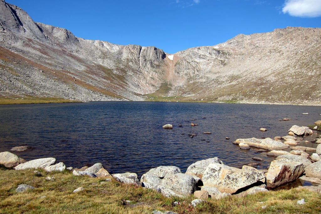 Summit Lake Natural Landmark Colorado