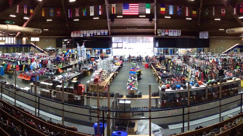 Vail Ski Swap Dobson Arena