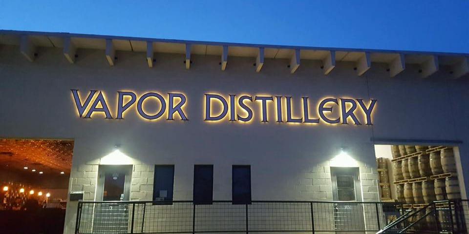 Vapor Distillery Boulder Colorado Night