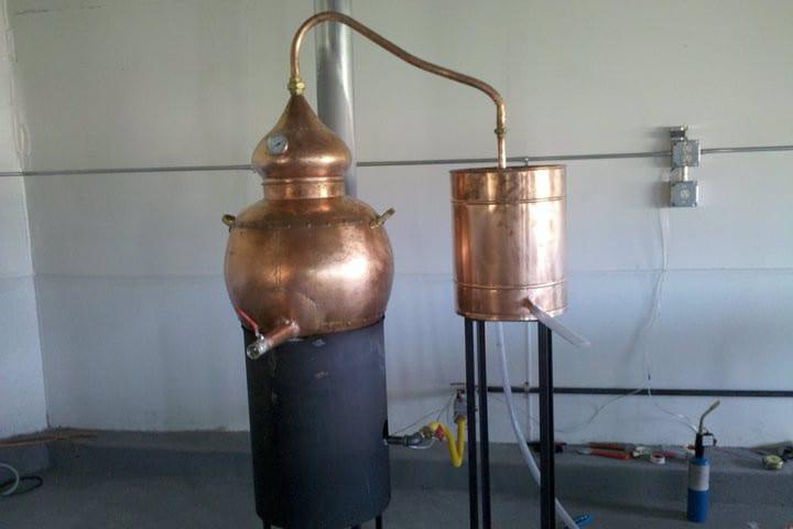 Vapor Distillery Boulder Gin Still