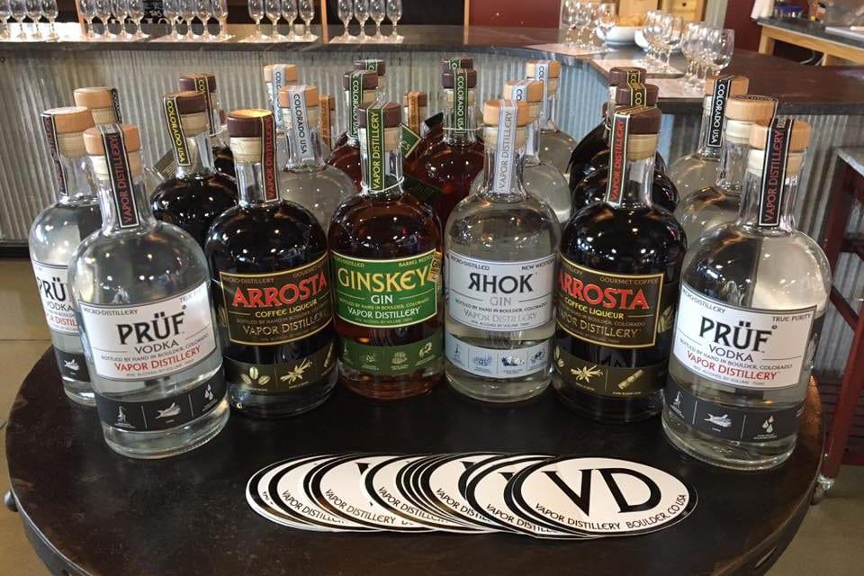 Vapor Distillery Boulder Popular Spirits