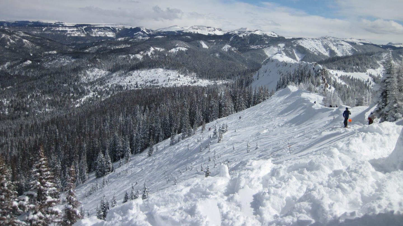 Wolf Creek Ski Area Powder Run