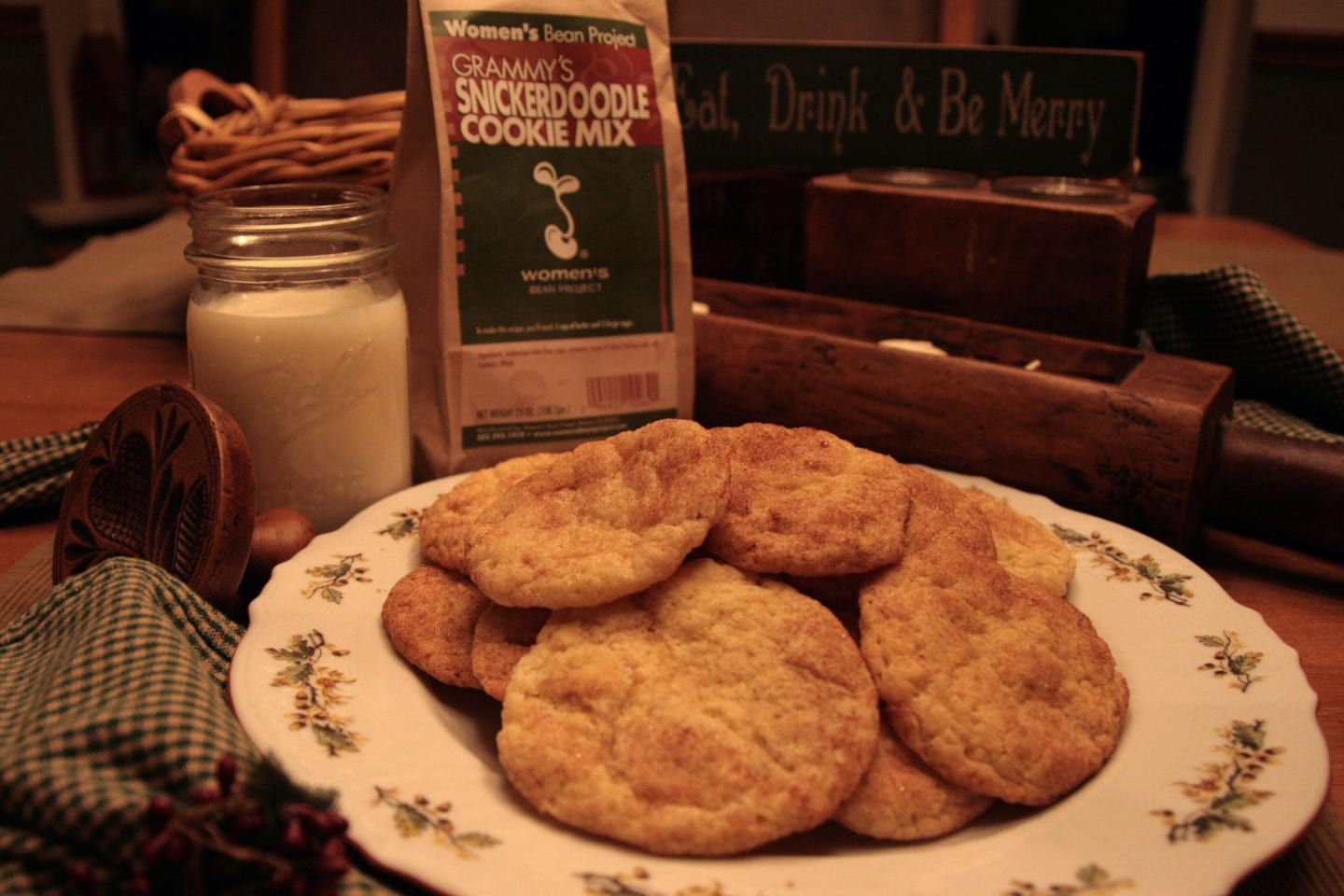 Women's Bean Project Grammys Snickerdoodle Cookies