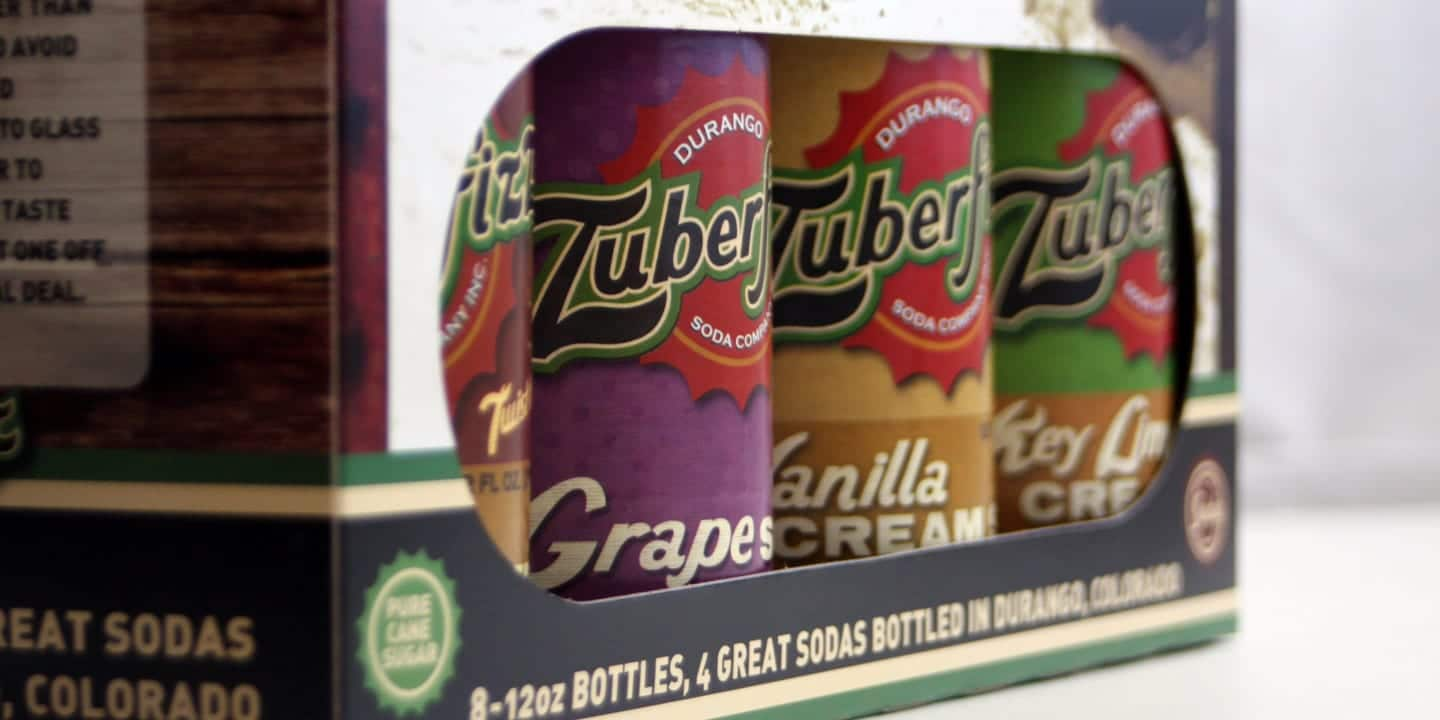 Zuberfizz Durango Soda Company Colorado