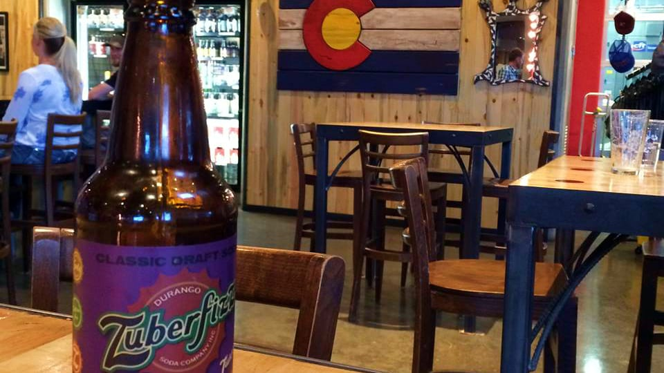 Zuberfizz Durango Soda Colorado